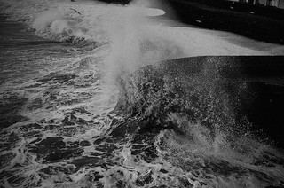 Sea storm by Andrea Lebate on Flickr