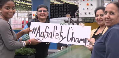 Image from AgSafe video #AgSafetyChamp