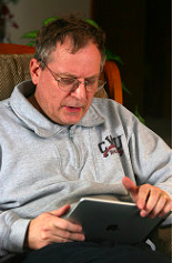 "Photo: ""Baby Boomer with iPad"" Quinn Dombrowski on Flickr"