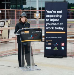 Donna Wilson at WorksafeBC event - Journal of Commerce photo