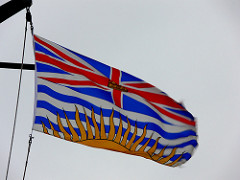 The BC flag. Photo by Bugman50 on Flickr
