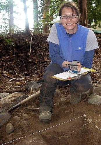 B.C. archaeologist Shannon Cameron