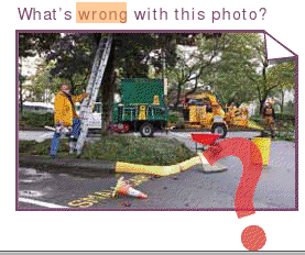 Can you spot 6 dangerous work habits in this photo challenge from WorkSafe Magazine?