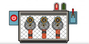 Photo of lockout system illustration