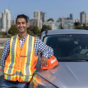 Photo of WorkSafeBC prevention officer